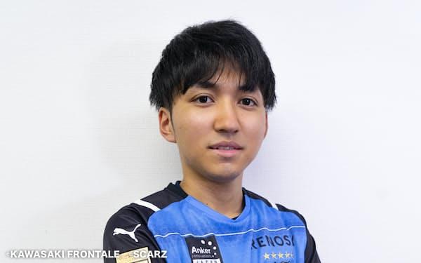 ジェイは今年1月に行われたeJリーグに川崎代表として出場し、優勝を果たした©KAWASAKI FRONTALE ©SCARZ