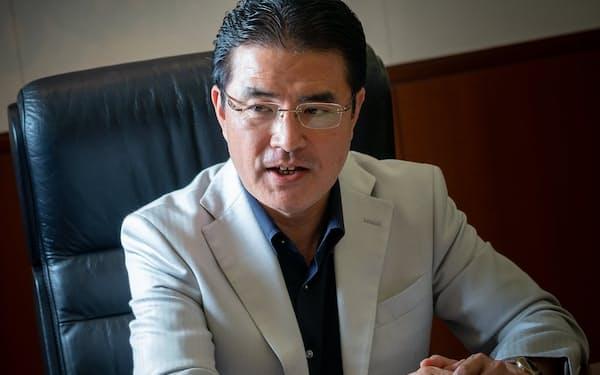 「外部資金の獲得が成長のカギ」と語る、立教大学ビジネススクールの田中道昭教授