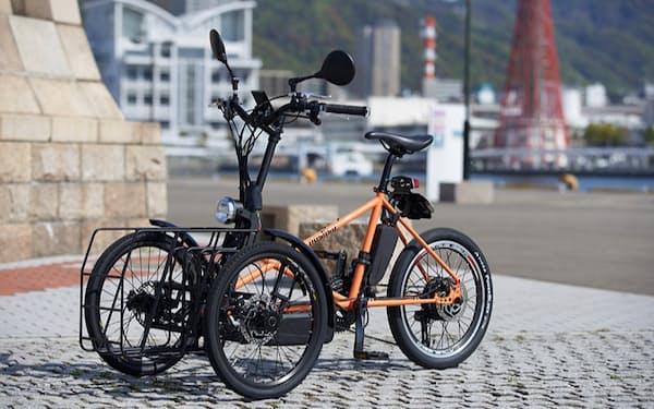 川崎重工が100台限定で販売した電動三輪車「noslisu(ノスリス)」