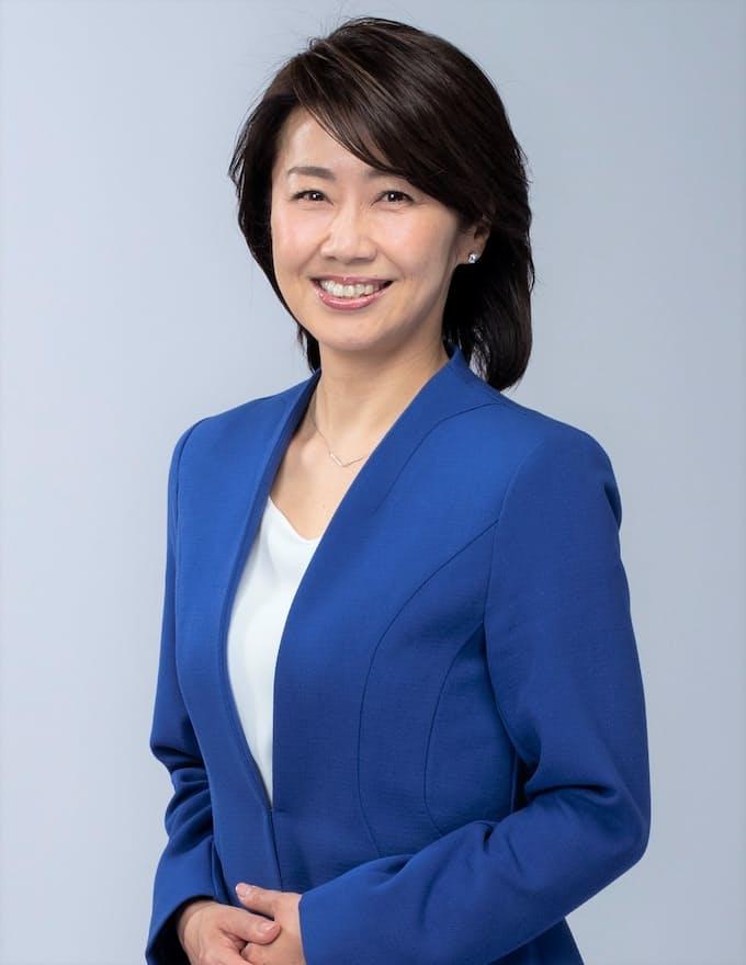 WBSのキャスター、佐々木明子さん