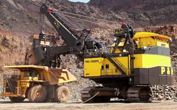 脱炭素で構造改革を急ぐ(コマツマイニングの鉱山機械)