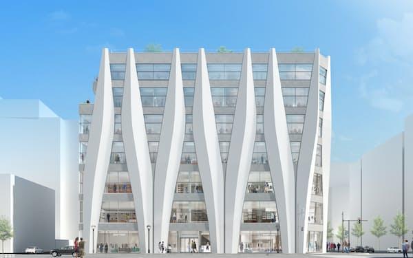 新施設は旧IKEUCHI GATE ビルと同規模となる予定