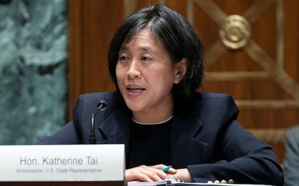 USTRのタイ代表は台湾系米国人=ロイター
