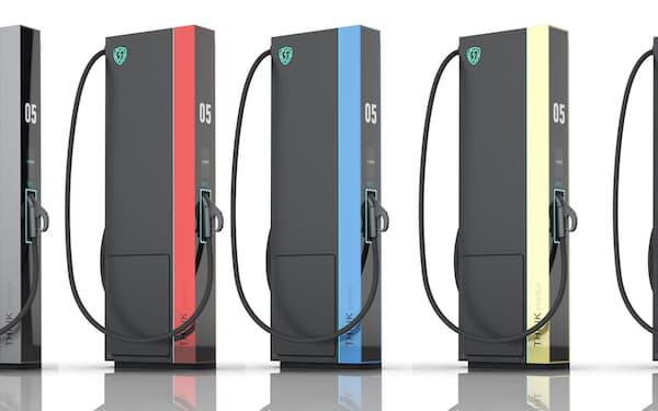 昇科能源の超急速充電スタンド=同社提供