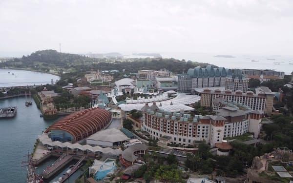 ゲンティン・シンガポールが運営するシンガポールのIR施設(2020年1月)