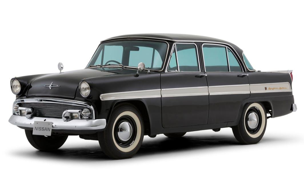 富士精密工業が生産した1957年発売の初代スカイライン