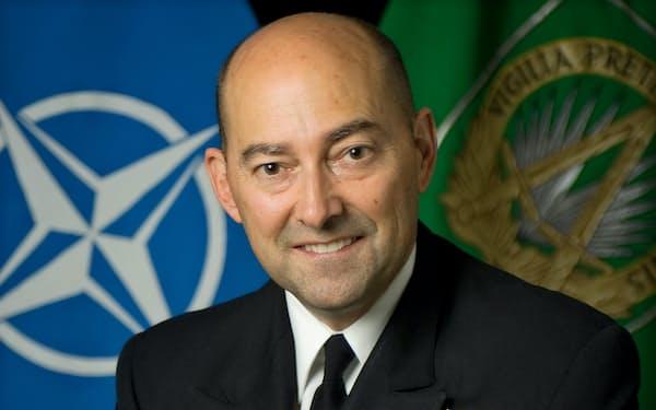 元NATO欧州連合軍最高司令官 ジェームズ・スタブリディス氏※下部の英文などはカットして下さい。