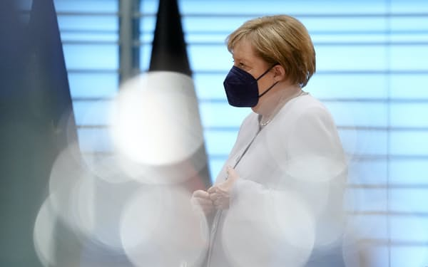 メルケル独首相はバイデン政権下で初めて訪米する欧州首脳に=AP