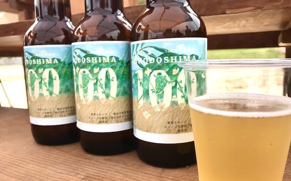 小豆島産の素材を100%使用したクラフトビールが誕生した