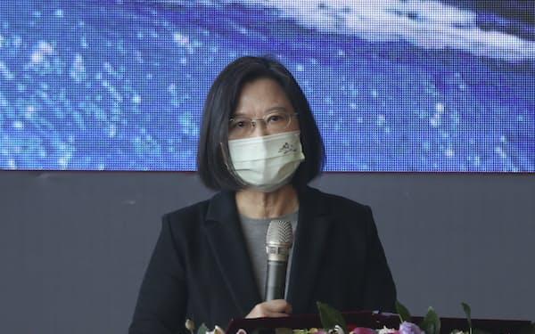 中国による台湾への統一圧力が増しており、台湾はG7サミットの共同宣言を歓迎した(20年12月)=AP
