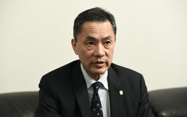 エンビジョンAESCグループの松本昌一社長