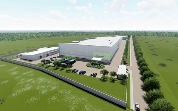 ヤクルトが新設するフィリピン第2工場(イメージ)