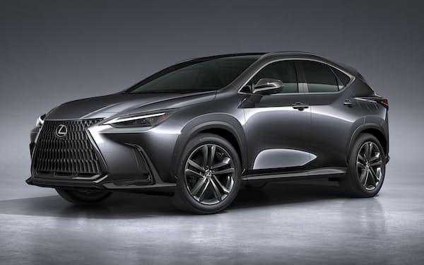 トヨタ自動車が発表したレクサスの新型「NX」