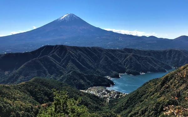 300年以上噴火していない富士山