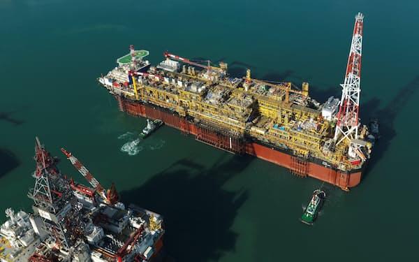 大宇造船海洋は洋上石油プラントの建造ノウハウを蓄積してきた