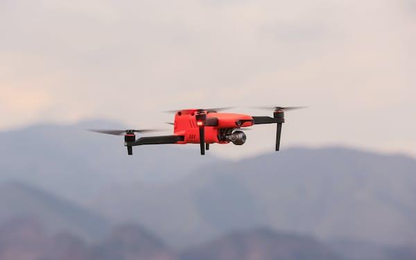 深圳市道通智能航空技術のドローン「EVO Ⅱ」は8Kカメラを搭載する=同社提供