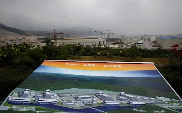 台山原発は中国とフランスの合弁企業が建設した=ロイター