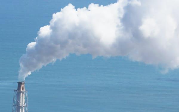 温暖化ガスの排出量が多い石炭火力発電所