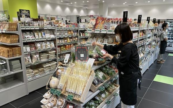 ビオセボンは6月、「GINZA SIX」(東京・中央)に出店した
