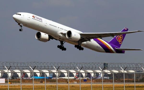 タイ国際航空は20年5月に経営破綻した=ロイター