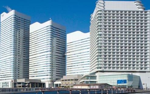 インベスコ・オフィス・ジェイリート投資法人が保有するクイーンズスクエア横浜(横浜市)