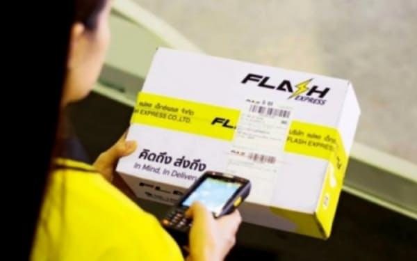 フラッシュ・エクスプレスはEC事業者向け宅配サービスを手掛け、急成長した(同社提供)