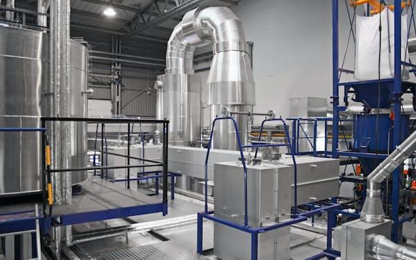 三菱ケミカルはCFKの既存工場にリサイクル炭素繊維の新しい生産ラインを設ける(ドイツ・ウィシュハーフェン)