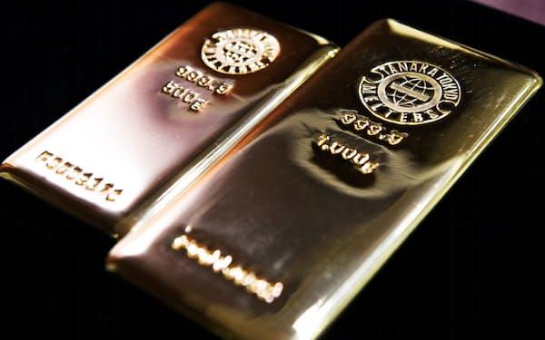 国内外で金の騰勢が強まっている