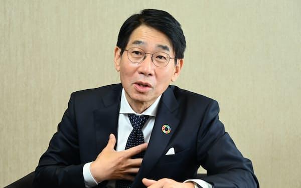 森田隆之 NEC社長