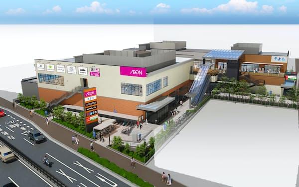 堺市に7月にオープンする「そよら新金岡」の完成イメージ