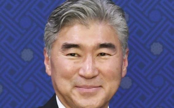米国の北朝鮮担当特使に就いたソン・キム氏=共同
