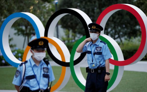 日本オリンピック委員会(JOC)の本部=ロイター
