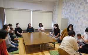 子育てする人の安心感を育む、岡山県奈義町の交流の場