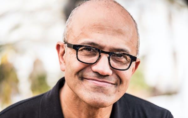 会長を兼務した米マイクロソフトのサティア・ナデラCEO