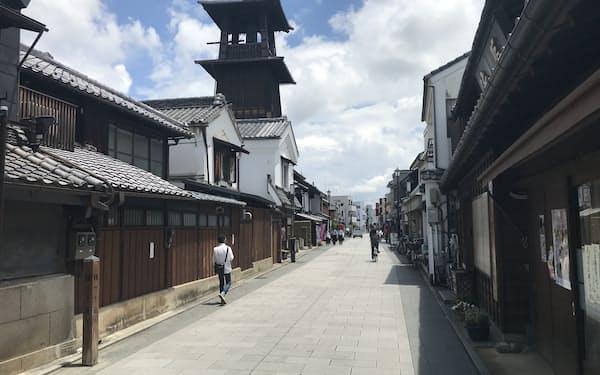 埼玉県川越市は蔵造りの町並みなどが観光客に人気