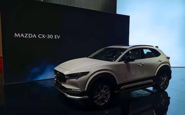 21年には「CX-30」のEVモデルを中国市場に投入する