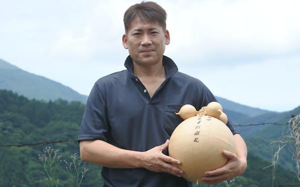花火大会の2度目の自主興行を決めたワキノアートファクトリーの脇野社長(北九州市)