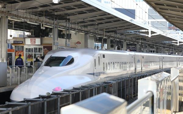 東海道新幹線(JR名古屋駅)