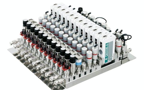 フジキンは半導体製造装置向けバルブで国内最大のシェアを持つ