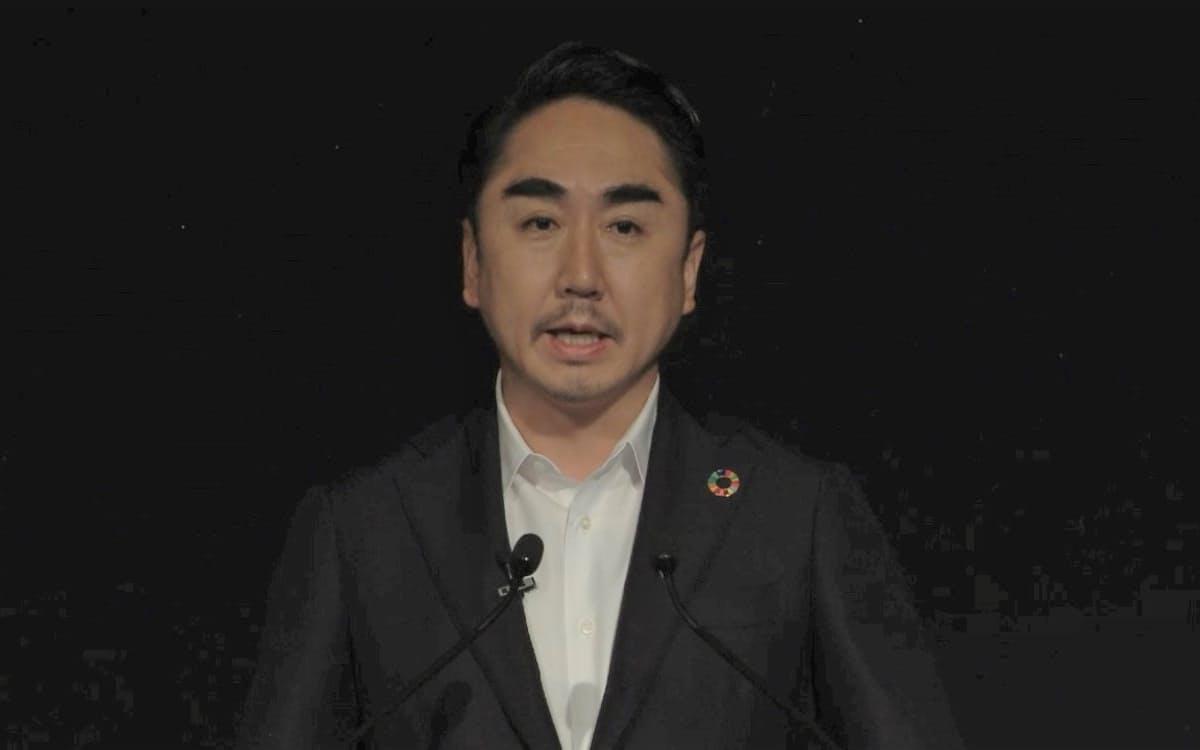 LINE社長であるZホールディングスの出沢剛代表取締役(18日)