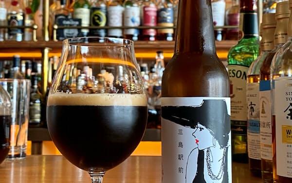 コーヒー豆を使ったビール「HAPPY END」