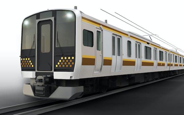 2022年春からJR宇都宮線と日光線に新型車両「E131系」が順次導入される(車両イメージ)