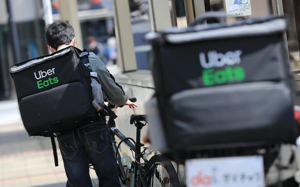 ウーバーイーツの自転車配達員が労災保険の特別加入の対象になる