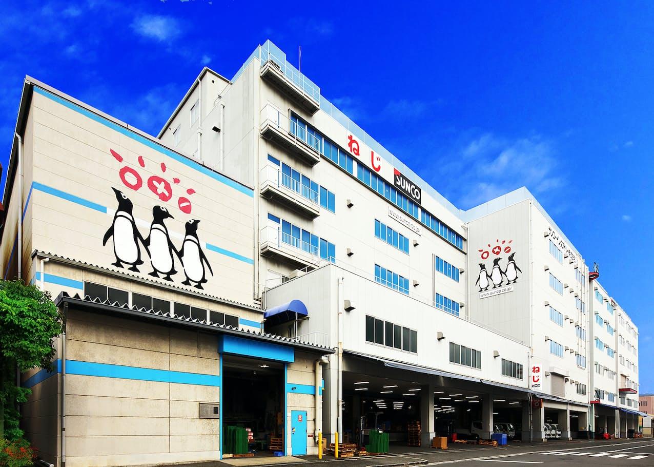 サンコーインダストリーが職場接種を実施する物流センター(大阪府東大阪市)