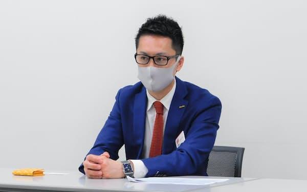 Enjinの本田幸大社長(18日)