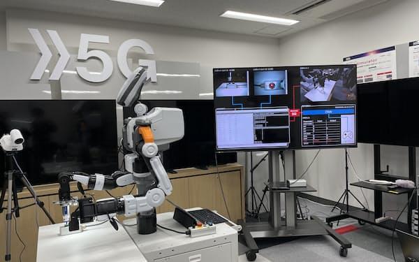 映像や産業ロボ制御の通信で5Gを活用した