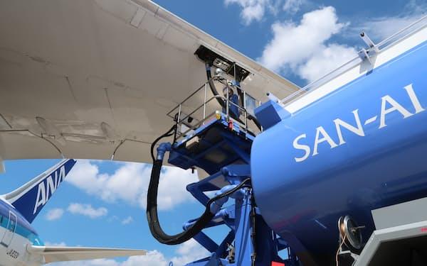 SAFを脱炭素の切り札と位置づけている