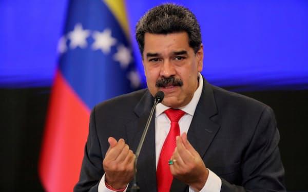 ベネズエラのマドゥロ大統領(20年12月、カラカス)=ロイター
