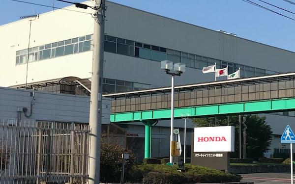 2025年の閉鎖が決まった「パワートレインユニット製造部」(栃木県真岡市)