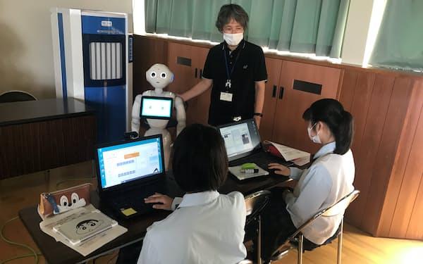 パソコンを使って機械学習を体験した(石川県能美市の寺井高校)
